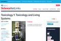 Toxicology 1: Toxicology and Living Systems