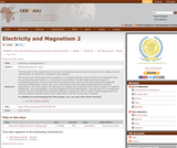 Electricity and Magnetism 2