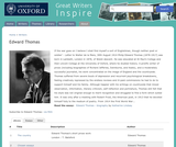 Great Writers Inspire: Edward Thomas
