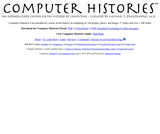Computer Histories - An introductory course on the history of computing
