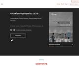 UH Microeconomics 2019