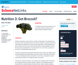 Nutrition 3: Got Broccoli?