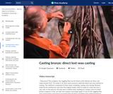 Casting bronze: direct lost-wax casting