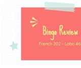 French 202 - Bingo Review - ONLINE