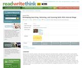 Developing Searching, Skimming, and Scanning Skills With Internet Bingo