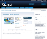 Caribbean Radar Products