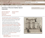 University of Wisconsin-Madison Special Collections Images