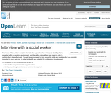 Interview With a Social Worker