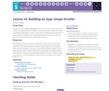 CS Principles 2019-2020 5.14: Building an App: Image Scroller