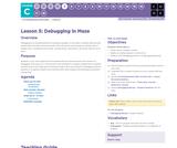 CS Fundamentals 3.5: Debugging in Maze