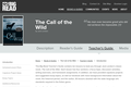 The Call of the Wild by Jack London - Teacher's Guide