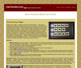 Hundred Board Activities 2