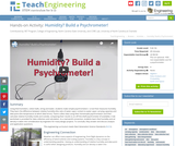 Humidity? Build a Psychrometer!