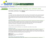 Investigating Rocks: Seeing Your School's Area