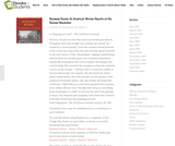 Runaway Russia: An American Woman Reports on the Russian Revolution – Ebooks for Students
