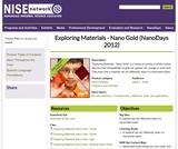 Exploring Materials - Nano Gold