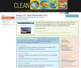 Energy 101: Solar Photovoltaic (PV)