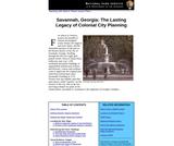 Savannah, Georgia: The Lasting Legacy of Colonial City Planning