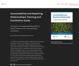 Accountability and Repairing Relationships: Training and Facilitation Guide