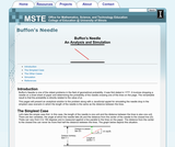 Buffon's Needle: An Analysis and Simulation