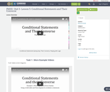 FM30- Unit 3- Lesson 5: Conditional Statements and Their Converse