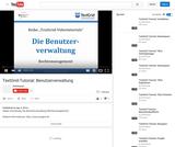 TextGrid-Tutorial: Benutzerverwaltung