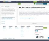 SOC 500 - Level of Care Matrix Scoring Tool (digital) 11-7-19