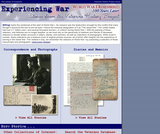 Experiencing War (Voices of War): Stories from the Veterans History Project