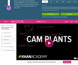 Biology: CAM Plants