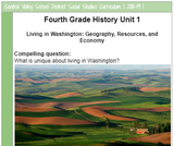 Living in Washington: Geography, Resources, and Economy