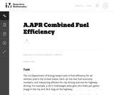 Combined Fuel Efficiency