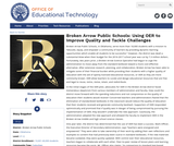 Broken Arrow Public Schools: Using OER to Improve Quality and Tackle Challenges