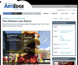 The Chinese Lion Dance
