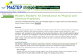 Mystery Powders: An Introduction to Physical and Chemical Properties