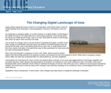 The Changing Digital Landscape of Iowa