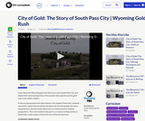 City of Gold: The Story of South Pass City