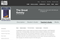 The Great Gatsby by F. Scott Fitzgerald - Teacher's Guide