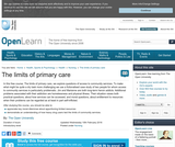The Limits of Primary Care
