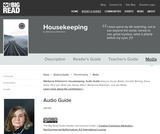 Housekeeping by Marilynne Robinson - Audio Guide