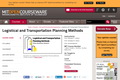 Logistical and Transportation Planning Methods, Fall 2006