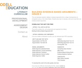 Building Evidence Based Arguments - Grade 8: E pluribus Unum