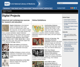 Online Exhibitions and Digital Projects from the NLM