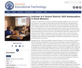 Hollister R-V School District: OER Ambassadors in Rural Missouri