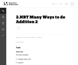 2.NBT Many Ways to do Addition 2