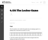 4.OA The Locker Game