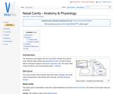 Nasal Cavity - Anatomy & Physiology