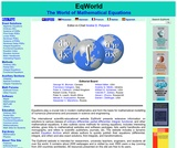EqWorld: The World of Mathematical Equations