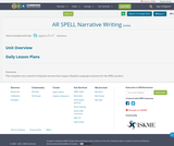 AR SPELL Narrative Writing