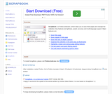 ScrapBook for Firefox 0.18.4