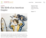 The Birth of an American Empire